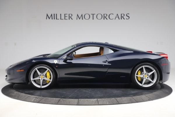 Used 2011 Ferrari 458 Italia for sale $179,900 at Bentley Greenwich in Greenwich CT 06830 3
