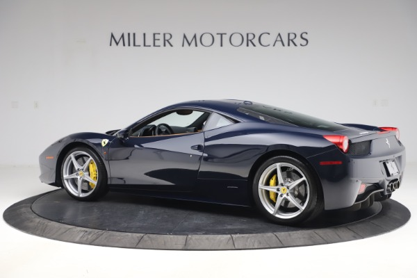 Used 2011 Ferrari 458 Italia for sale $179,900 at Bentley Greenwich in Greenwich CT 06830 4