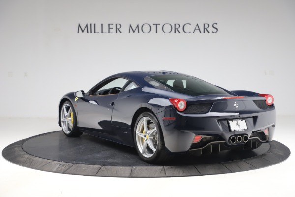Used 2011 Ferrari 458 Italia for sale $179,900 at Bentley Greenwich in Greenwich CT 06830 5