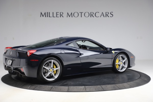 Used 2011 Ferrari 458 Italia for sale $179,900 at Bentley Greenwich in Greenwich CT 06830 8
