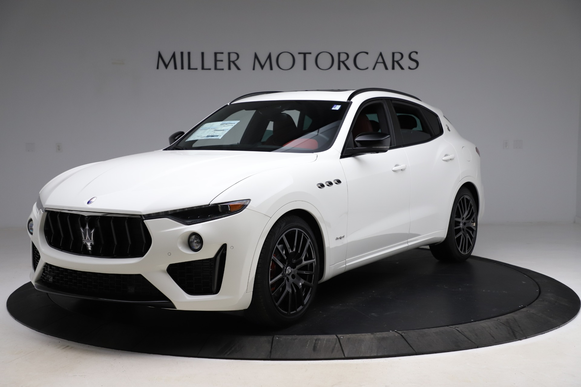 New 2021 Maserati Levante Q4 GranSport for sale $92,935 at Bentley Greenwich in Greenwich CT 06830 1