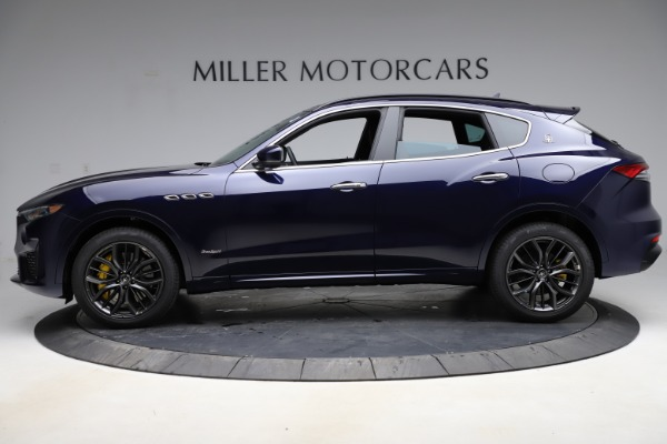 New 2021 Maserati Levante S Q4 GranSport for sale $100,185 at Bentley Greenwich in Greenwich CT 06830 3