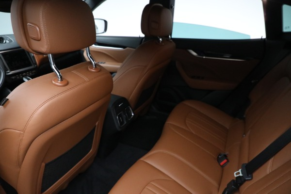 New 2021 Maserati Levante Q4 for sale Call for price at Bentley Greenwich in Greenwich CT 06830 15