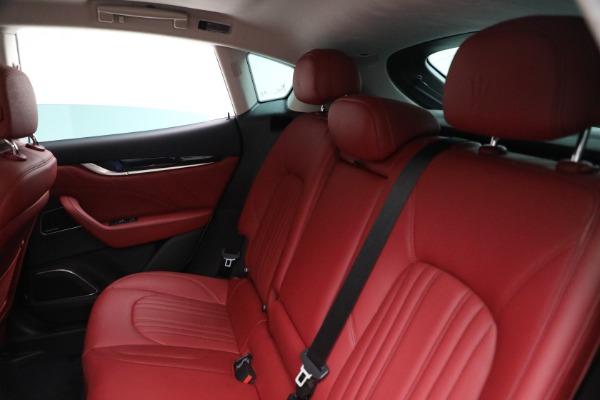 New 2021 Maserati Levante Q4 for sale $76,769 at Bentley Greenwich in Greenwich CT 06830 17
