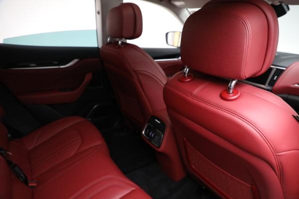 New 2021 Maserati Levante Q4 for sale $76,769 at Bentley Greenwich in Greenwich CT 06830 22