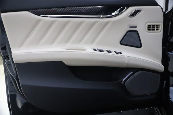 New 2021 Maserati Quattroporte S Q4 GranSport for sale $129,185 at Bentley Greenwich in Greenwich CT 06830 17