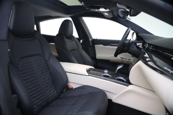 New 2021 Maserati Quattroporte S Q4 GranSport for sale $129,185 at Bentley Greenwich in Greenwich CT 06830 18
