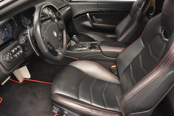 Used 2013 Maserati GranTurismo Sport for sale Sold at Bentley Greenwich in Greenwich CT 06830 14