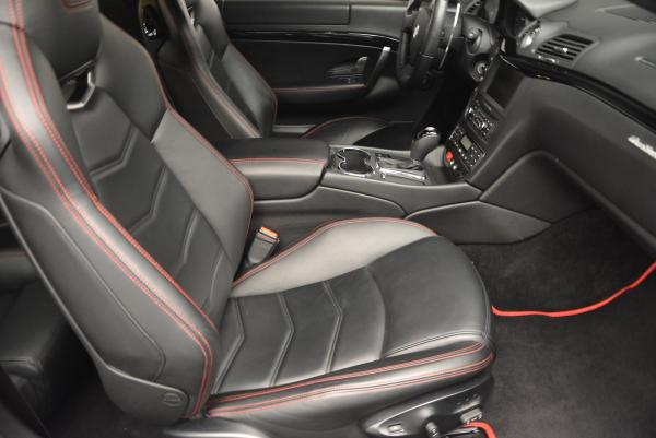 Used 2013 Maserati GranTurismo Sport for sale Sold at Bentley Greenwich in Greenwich CT 06830 18