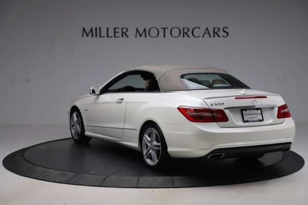 Used 2012 Mercedes-Benz E-Class E 550 for sale $29,990 at Bentley Greenwich in Greenwich CT 06830 14