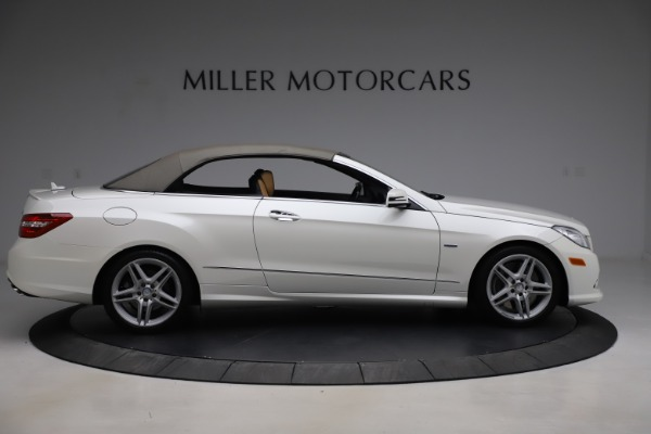 Used 2012 Mercedes-Benz E-Class E 550 for sale $29,990 at Bentley Greenwich in Greenwich CT 06830 17