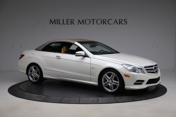 Used 2012 Mercedes-Benz E-Class E 550 for sale $29,990 at Bentley Greenwich in Greenwich CT 06830 18