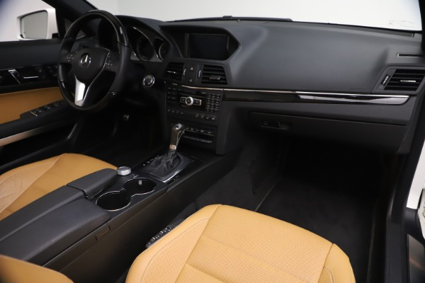 Used 2012 Mercedes-Benz E-Class E 550 for sale $29,990 at Bentley Greenwich in Greenwich CT 06830 27