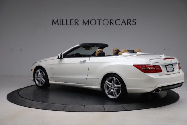 Used 2012 Mercedes-Benz E-Class E 550 for sale $29,990 at Bentley Greenwich in Greenwich CT 06830 3