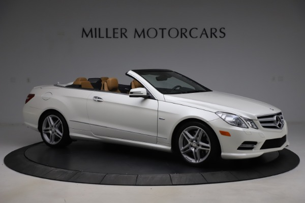 Used 2012 Mercedes-Benz E-Class E 550 for sale $29,990 at Bentley Greenwich in Greenwich CT 06830 8
