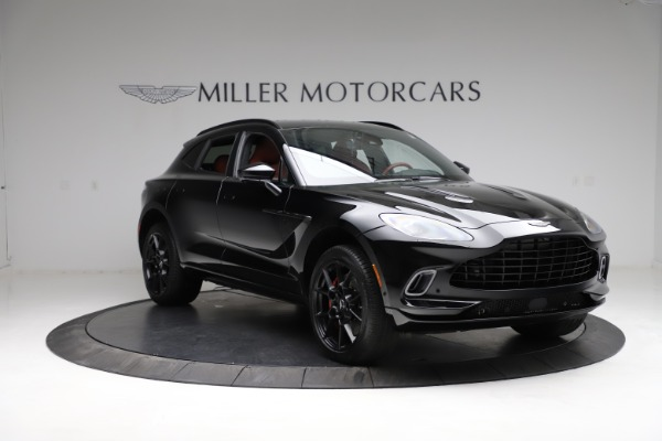 New 2021 Aston Martin DBX for sale $200,986 at Bentley Greenwich in Greenwich CT 06830 10