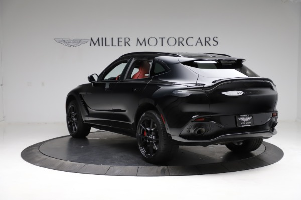 New 2021 Aston Martin DBX SUV for sale $200,986 at Bentley Greenwich in Greenwich CT 06830 4