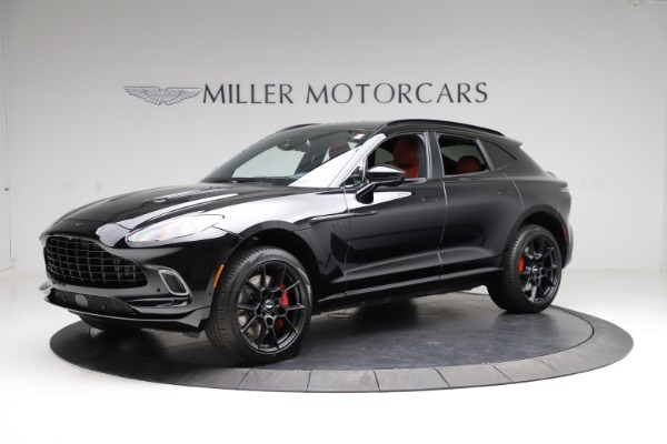 New 2021 Aston Martin DBX SUV for sale $200,986 at Bentley Greenwich in Greenwich CT 06830 1