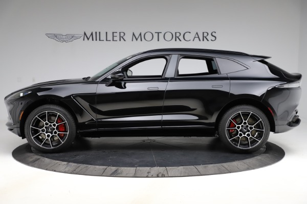 New 2021 Aston Martin DBX SUV for sale $212,686 at Bentley Greenwich in Greenwich CT 06830 2