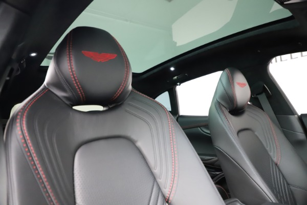 New 2021 Aston Martin DBX SUV for sale $212,686 at Bentley Greenwich in Greenwich CT 06830 22
