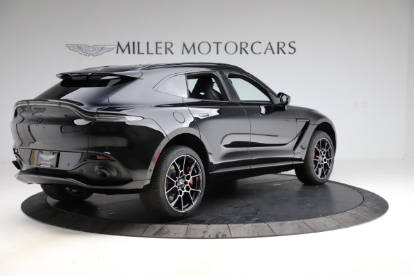 New 2021 Aston Martin DBX SUV for sale $212,686 at Bentley Greenwich in Greenwich CT 06830 7