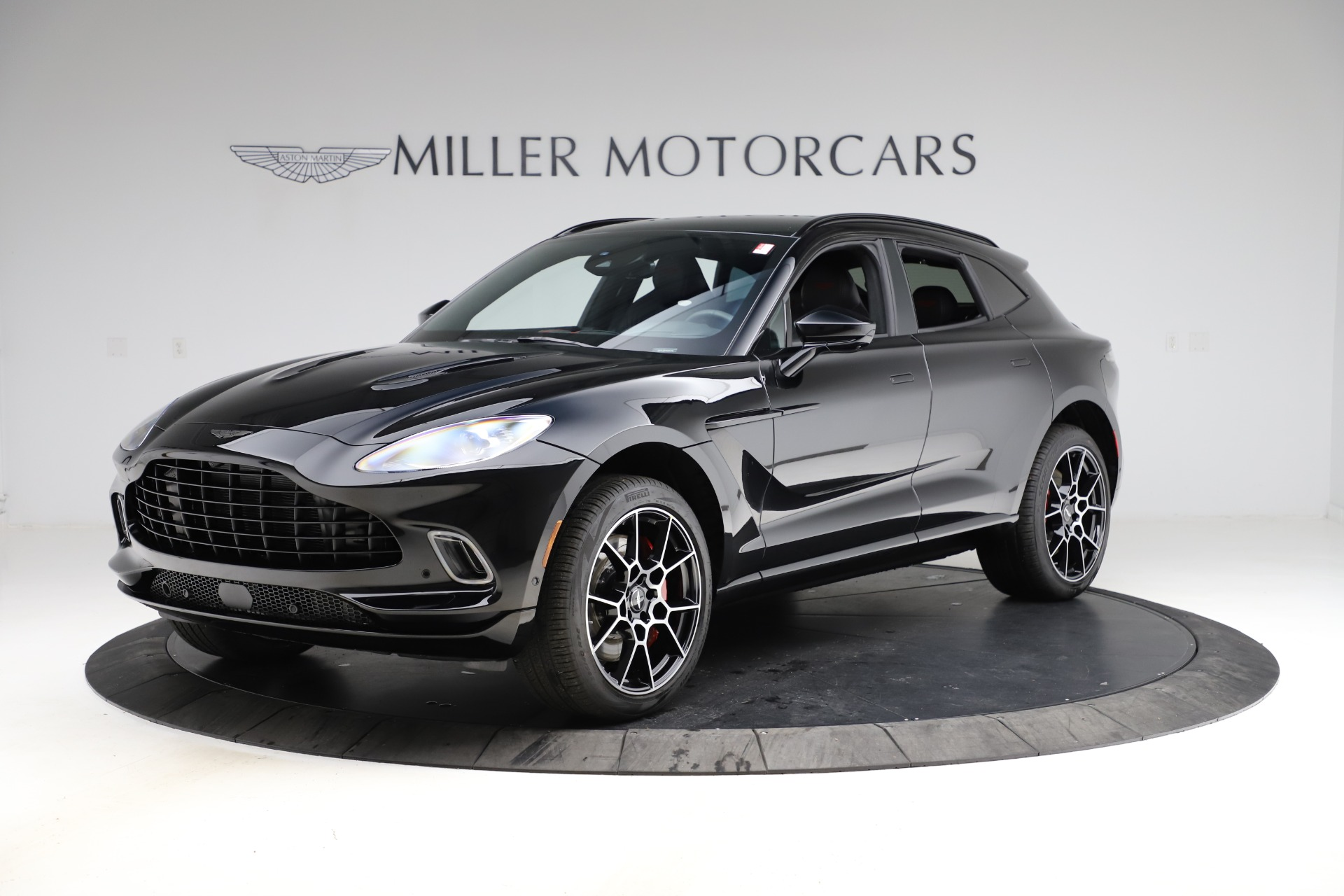 New 2021 Aston Martin DBX SUV for sale $212,686 at Bentley Greenwich in Greenwich CT 06830 1