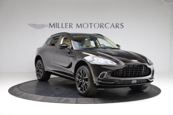 New 2021 Aston Martin DBX for sale $215,386 at Bentley Greenwich in Greenwich CT 06830 10