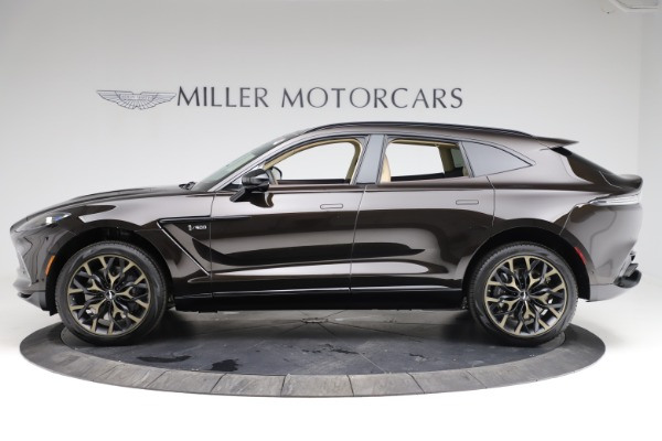 New 2021 Aston Martin DBX SUV for sale $215,386 at Bentley Greenwich in Greenwich CT 06830 2