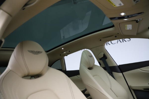 New 2021 Aston Martin DBX for sale $215,386 at Bentley Greenwich in Greenwich CT 06830 25