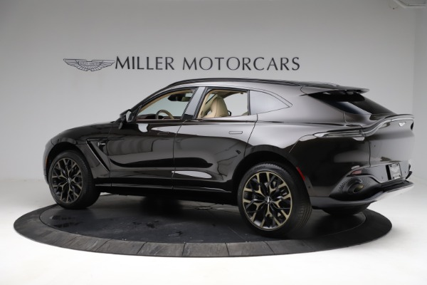 New 2021 Aston Martin DBX for sale $215,386 at Bentley Greenwich in Greenwich CT 06830 3