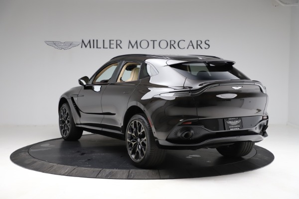 New 2021 Aston Martin DBX SUV for sale $215,386 at Bentley Greenwich in Greenwich CT 06830 4