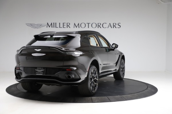 New 2021 Aston Martin DBX for sale $215,386 at Bentley Greenwich in Greenwich CT 06830 6