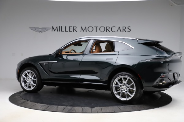 New 2021 Aston Martin DBX SUV for sale $221,386 at Bentley Greenwich in Greenwich CT 06830 3