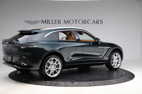 New 2021 Aston Martin DBX SUV for sale $221,386 at Bentley Greenwich in Greenwich CT 06830 7