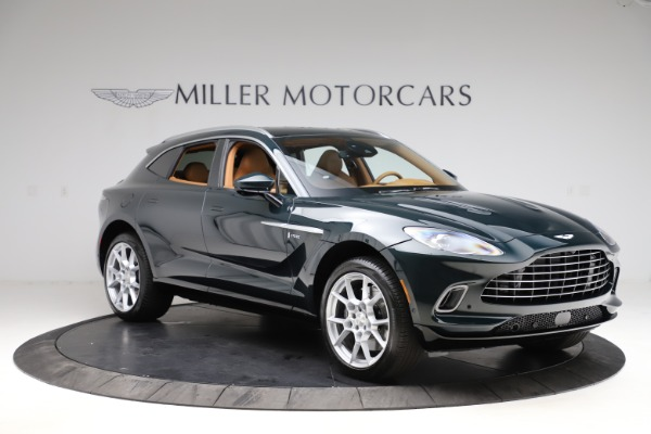 New 2021 Aston Martin DBX SUV for sale $221,386 at Bentley Greenwich in Greenwich CT 06830 9