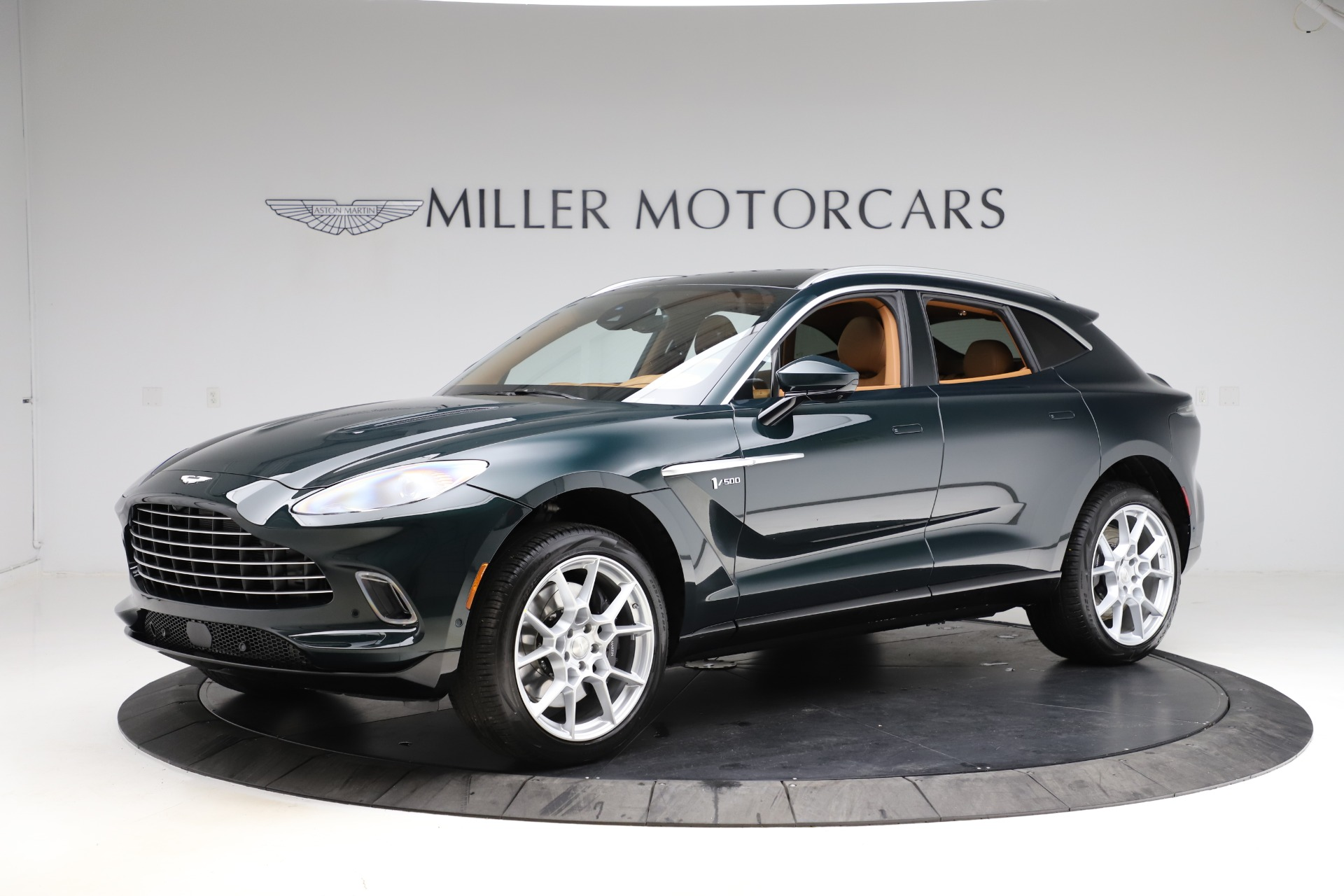 New 2021 Aston Martin DBX SUV for sale $221,386 at Bentley Greenwich in Greenwich CT 06830 1