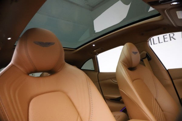 New 2021 Aston Martin DBX SUV for sale $264,386 at Bentley Greenwich in Greenwich CT 06830 21