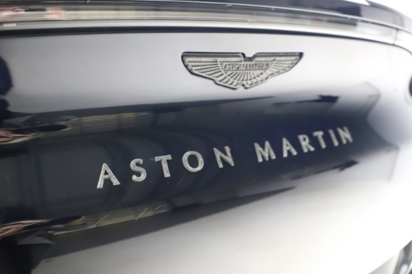 New 2021 Aston Martin DBX SUV for sale $264,386 at Bentley Greenwich in Greenwich CT 06830 25