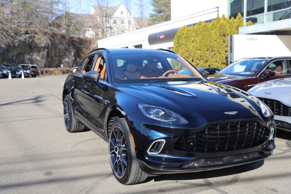 New 2021 Aston Martin DBX for sale $264,386 at Bentley Greenwich in Greenwich CT 06830 28