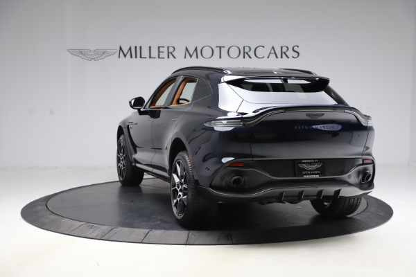 New 2021 Aston Martin DBX SUV for sale $264,386 at Bentley Greenwich in Greenwich CT 06830 4