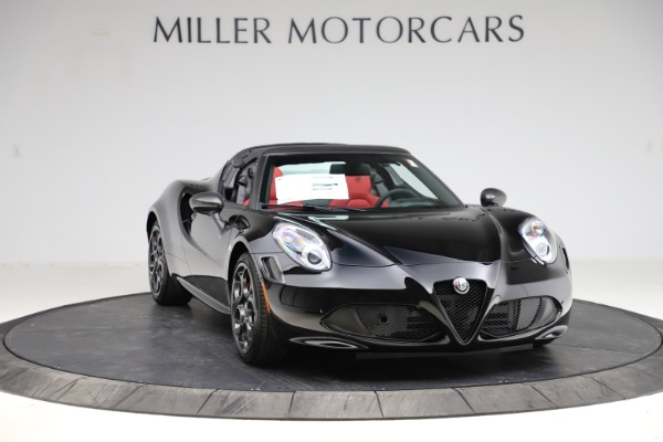 New 2020 Alfa Romeo 4C Spider for sale Sold at Bentley Greenwich in Greenwich CT 06830 11