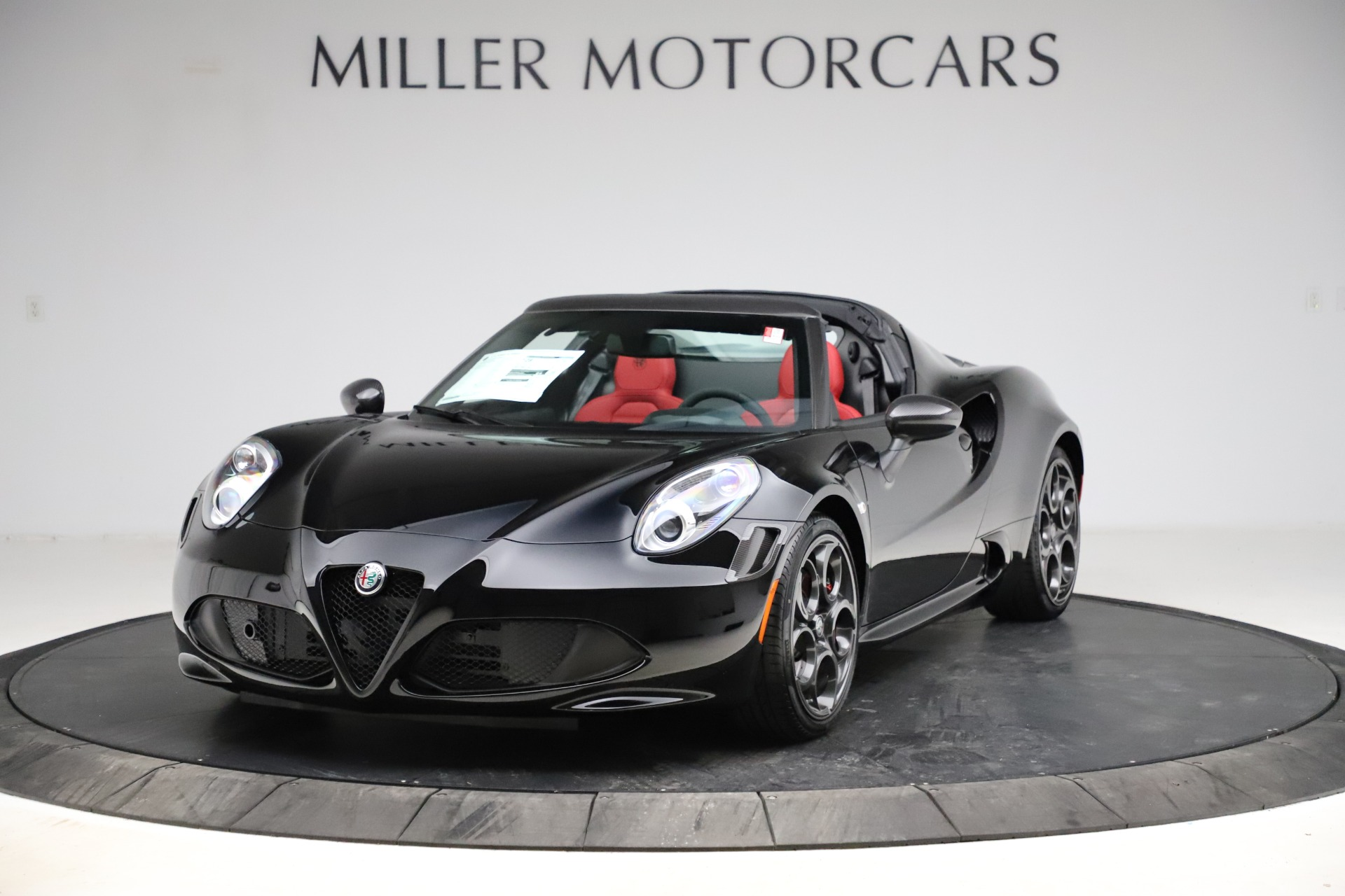 New 2020 Alfa Romeo 4C Spider for sale Sold at Bentley Greenwich in Greenwich CT 06830 1