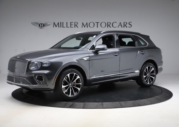 New 2021 Bentley Bentayga V8 for sale $213,720 at Bentley Greenwich in Greenwich CT 06830 2