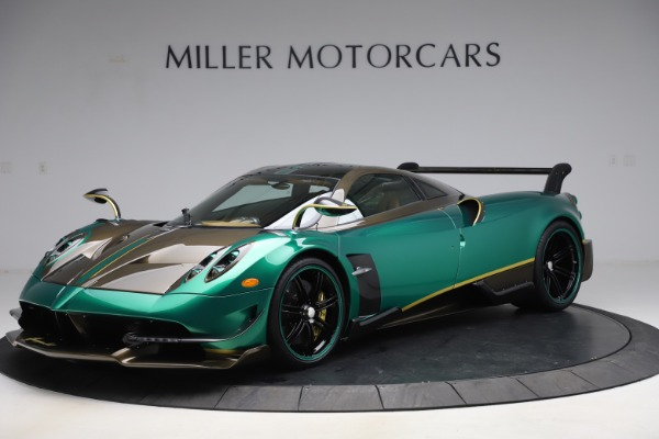 Used 2017 Pagani Huayra BC for sale Call for price at Bentley Greenwich in Greenwich CT 06830 17