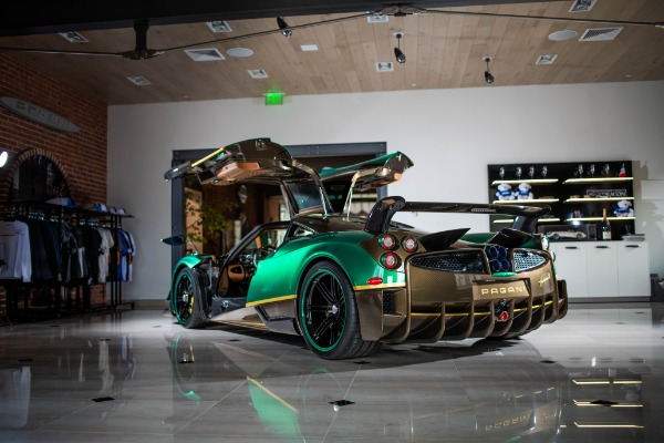Used 2017 Pagani Huayra BC for sale Call for price at Bentley Greenwich in Greenwich CT 06830 2
