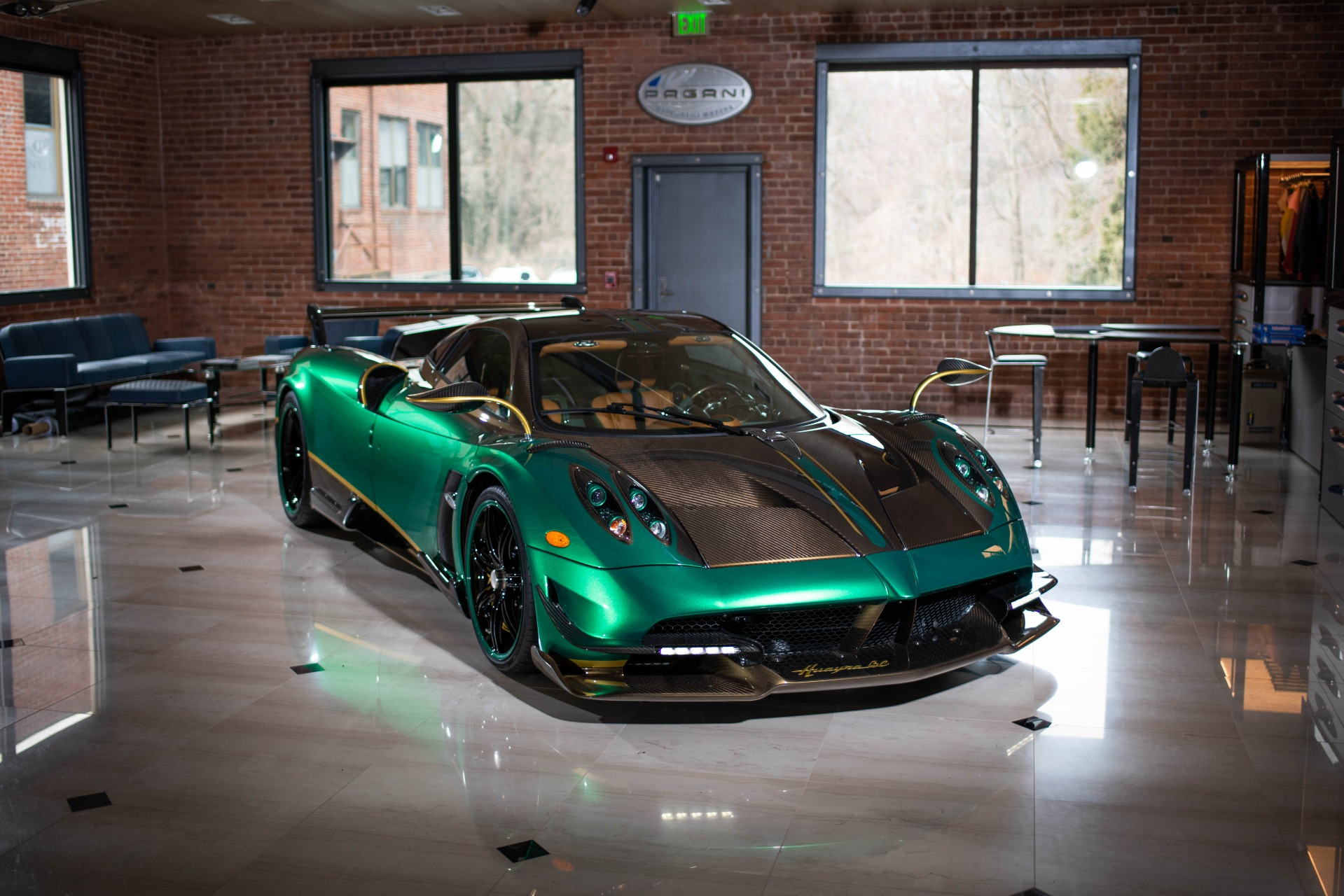 Used 2017 Pagani Huayra BC for sale Call for price at Bentley Greenwich in Greenwich CT 06830 1