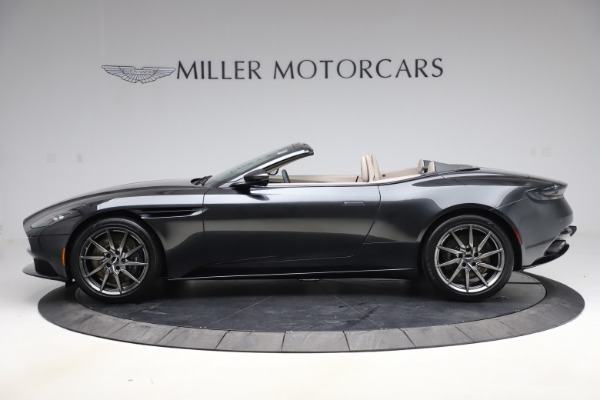 New 2021 Aston Martin DB11 Volante Convertible for sale $270,386 at Bentley Greenwich in Greenwich CT 06830 2