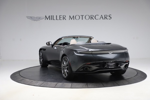 New 2021 Aston Martin DB11 Volante Convertible for sale $270,386 at Bentley Greenwich in Greenwich CT 06830 4