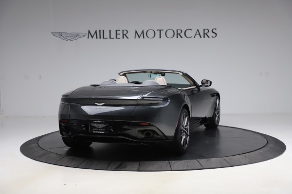 New 2021 Aston Martin DB11 Volante Convertible for sale $270,386 at Bentley Greenwich in Greenwich CT 06830 6