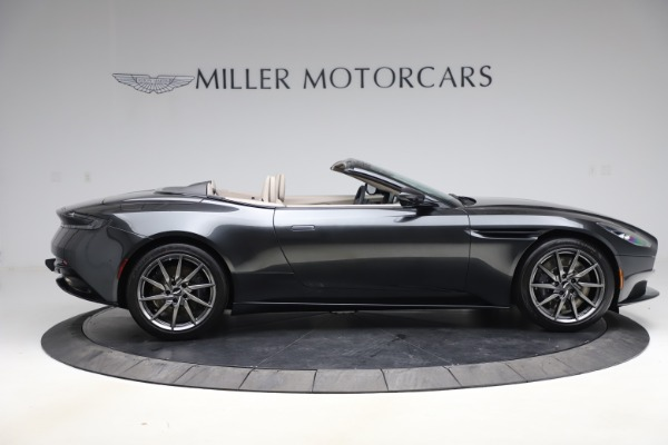 New 2021 Aston Martin DB11 Volante Convertible for sale $270,386 at Bentley Greenwich in Greenwich CT 06830 7